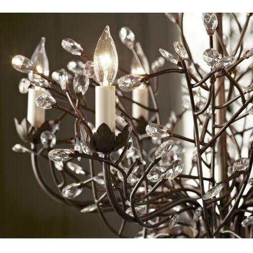 Potterybarn Camilla Crystal Bud Tree, Pottery Barn Camilla Chandelier Reviews
